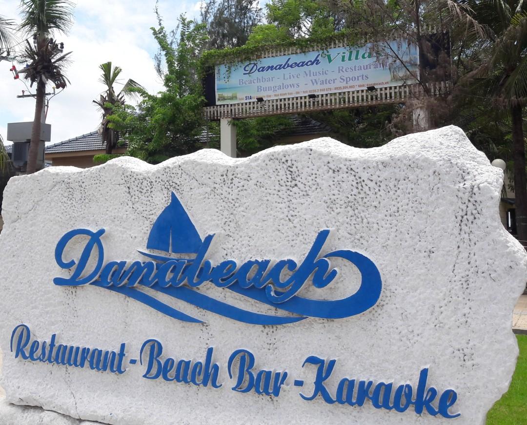 Xây không phép hàng loạt hạng mục tại Khu Công viên dịch vụ giải trí du lịch thể thao biển - Danabeach ở Đà Nẵng - Ảnh 1.