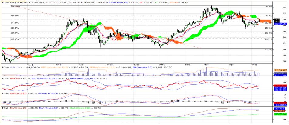 Cổ phiếu tâm điểm ngày 14/5: FPT, TCM, REE - Ảnh 2.