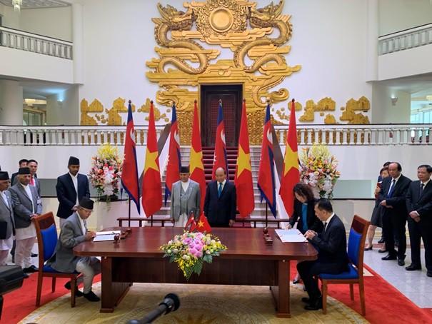 Ý định thư Việt Nam - Nepal được kí kết, bước đệm hình thành một FTA mới - Ảnh 1.