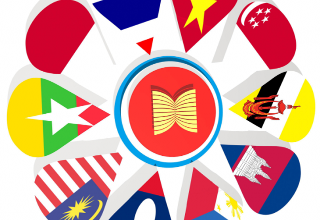 ASEAN phải hợp tác cùng nhau để hưởng lợi từ chiến tranh thương mại - Ảnh 1.