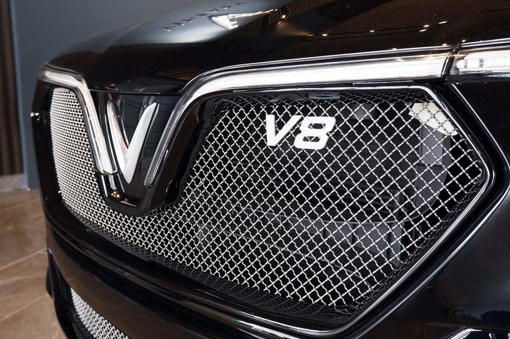 [Ảnh] Cận cảnh nhà máy sản xuất ô tô VinFast 1 tháng trước ngày khai trương - Ảnh 11.