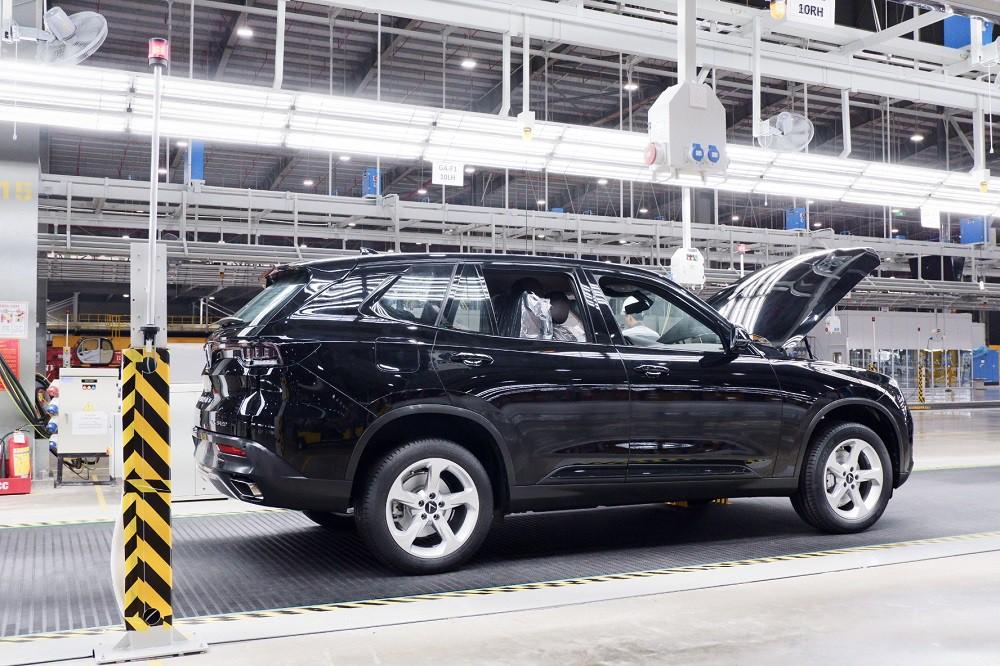 [Ảnh] Cận cảnh nhà máy sản xuất ô tô VinFast 1 tháng trước ngày khai trương - Ảnh 12.