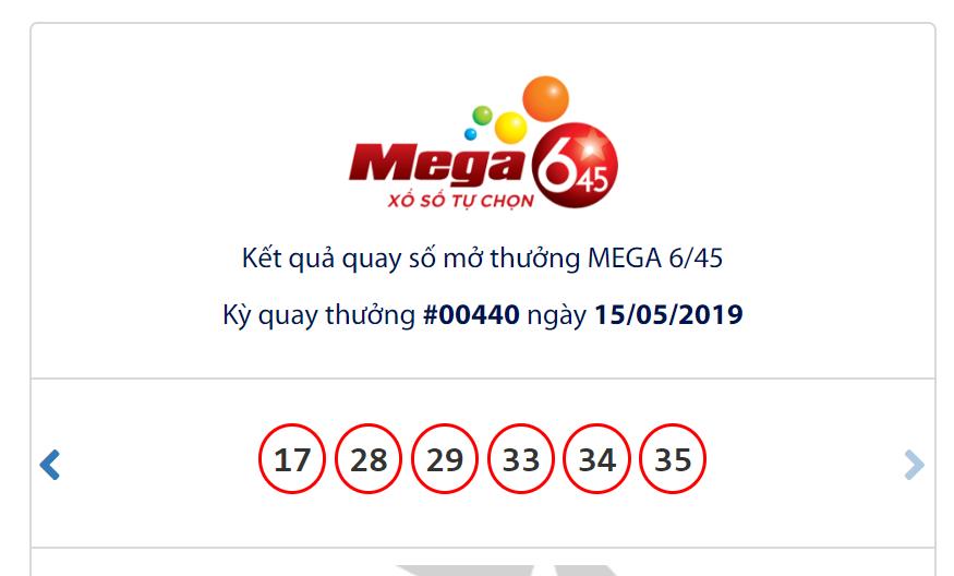 Kết quả Vietlott Mega 6/45 ngày 15/5: Jackpot lẻ bóng ở ngưỡng hơn 18,6 tỉ đồng - Ảnh 1.