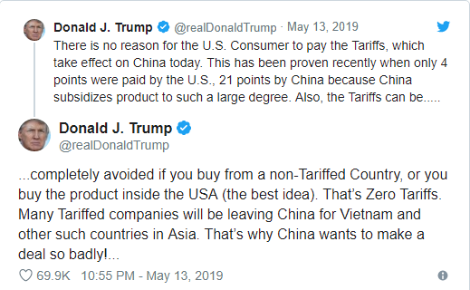 Ông Trump: Người Mỹ nên mua hàng từ Việt Nam và quốc gia khác, tốt nhất là made in U.S để tránh thuế - Ảnh 1.