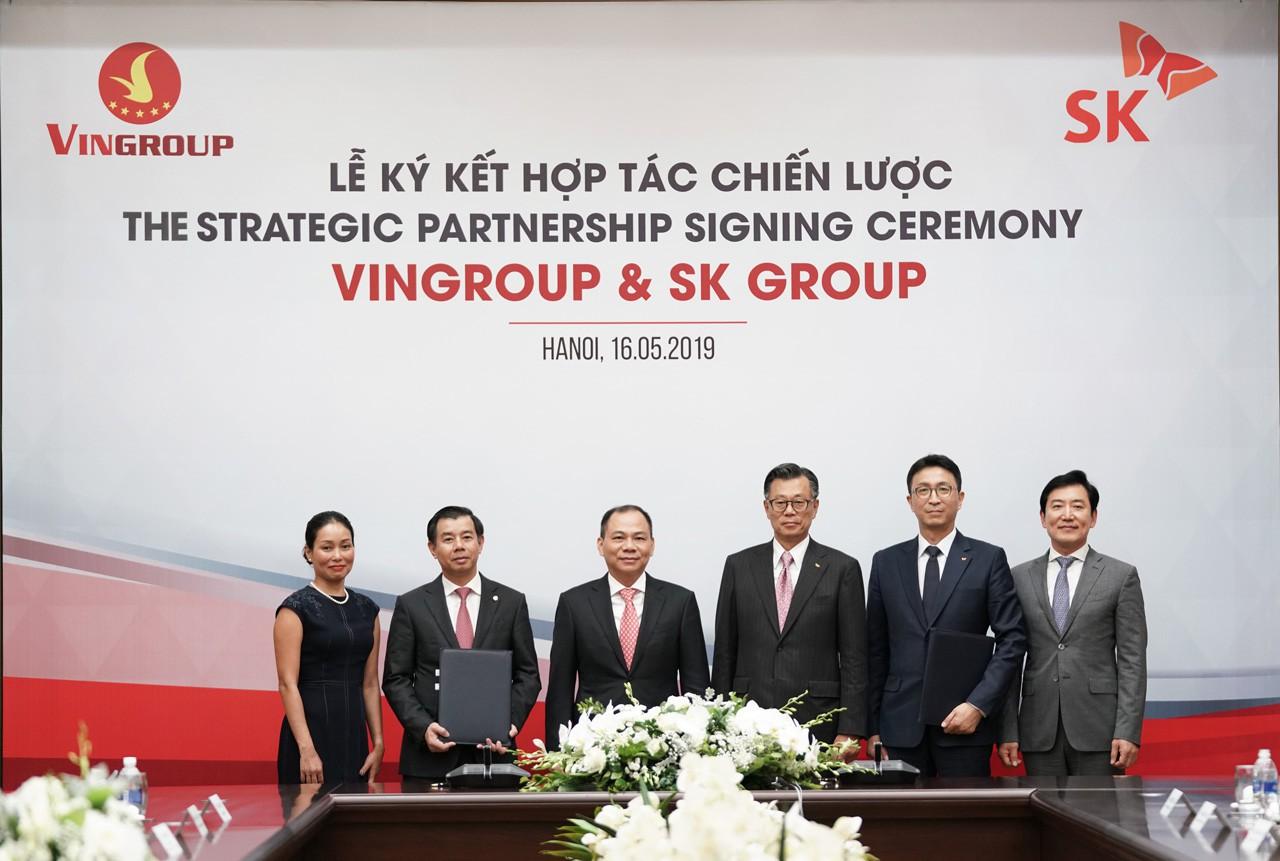 Tập đoàn SK đầu tư 1 tỉ USD vào Vingroup  - Ảnh 1.