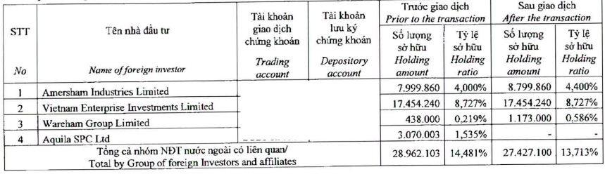 Dragon Capital thoái bớt vốn tại Hải Phát Invest và Đầu tư Hạ tầng (CII)  - Ảnh 1.