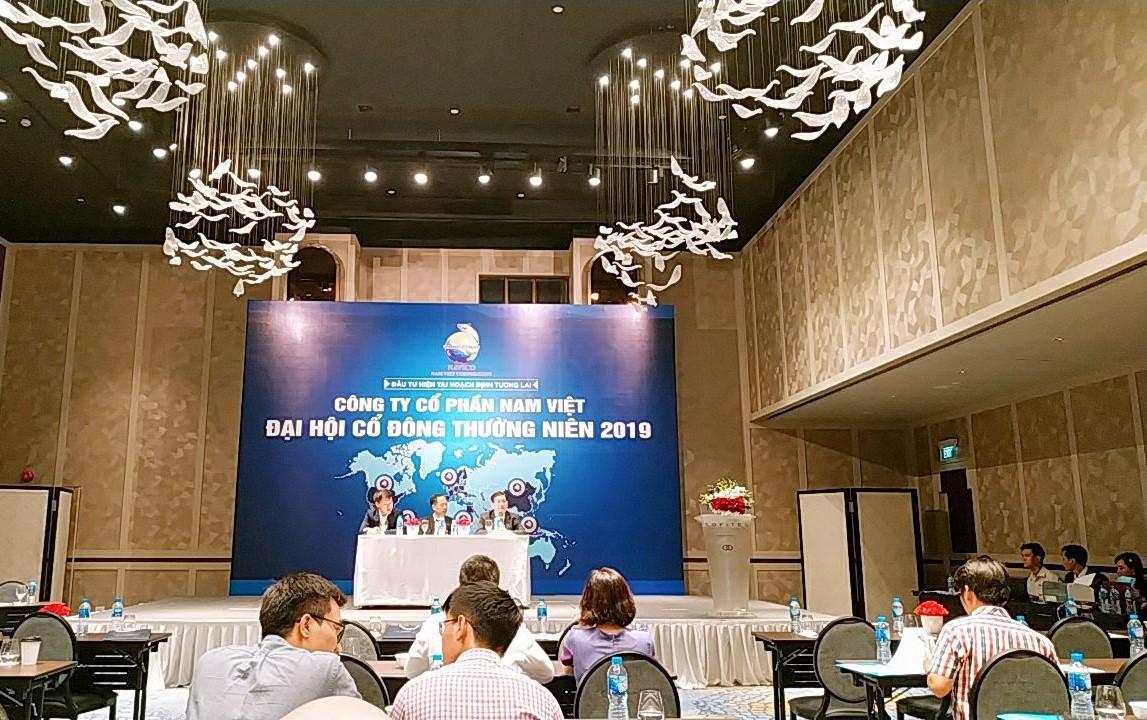 ĐHĐCĐ Nam Việt: Quyết tâm quay lại thị trường mỹ, lãi sau thuế kế hoạch 700 tỉ đồng - Ảnh 1.