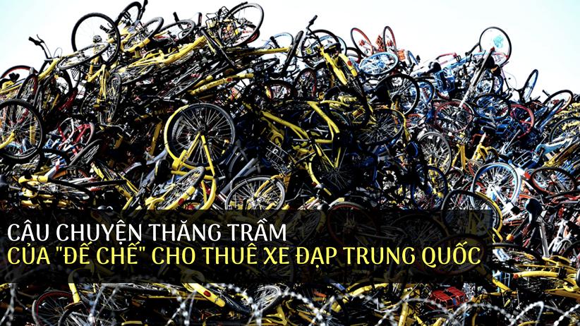 Câu chuyện thăng trầm của đế chế cho thuê xe đạp Trung Quốc - Ảnh 1.