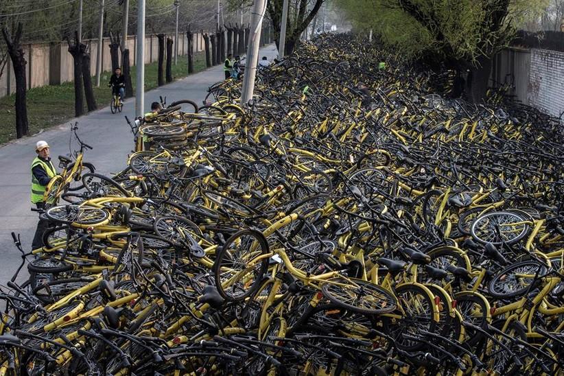 Câu chuyện thăng trầm của đế chế cho thuê xe đạp Trung Quốc - Ảnh 4.