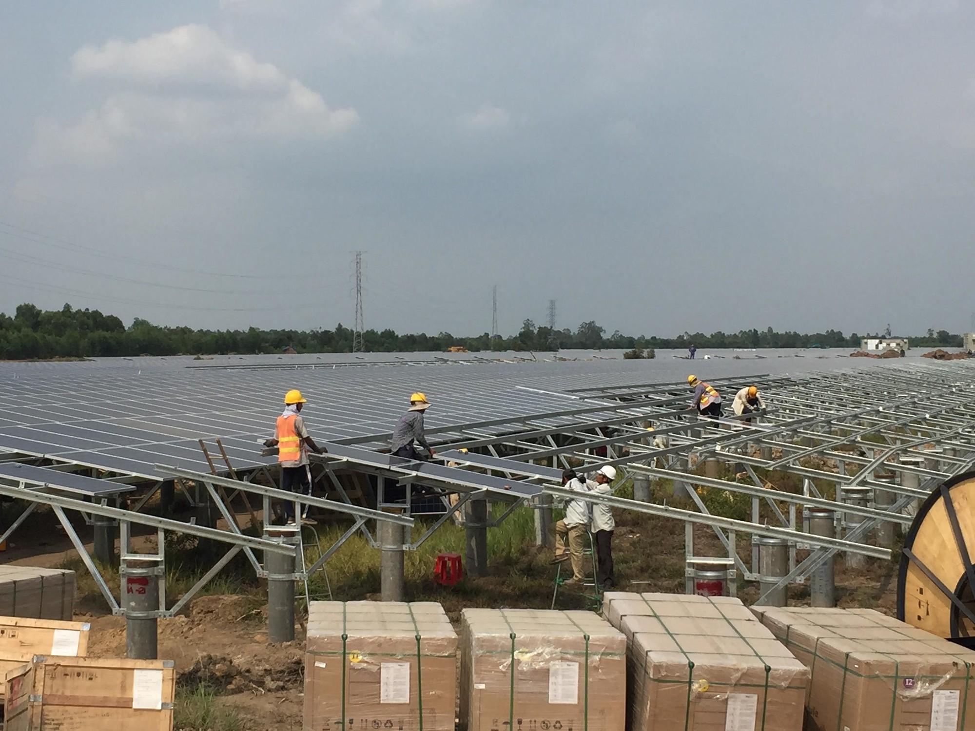 Điện mặt trời ồ ạt hòa lưới, EVN phải thuê chuyên gia chữa cháy - Ảnh 1.