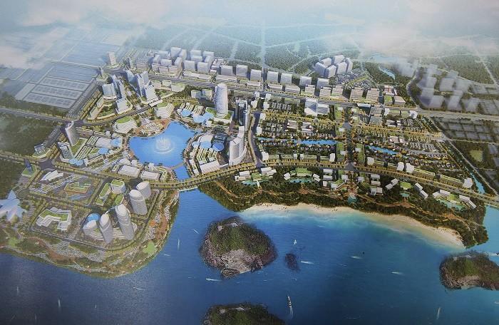 Tập đoàn Doji lên ý tưởng xây siêu dự án rộng 200ha tại Vân Đồn - Ảnh 1.