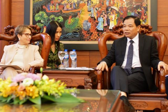Brazil muốn xuất khẩu thịt bò và dưa vàng sang Việt Nam - Ảnh 1.