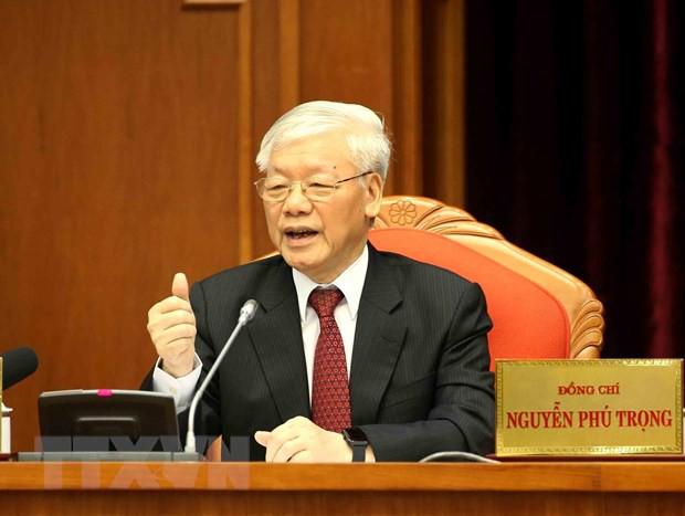 Toàn văn phát biểu bế mạc Hội nghị Trung ương 10 của Tổng Bí thư  - Ảnh 2.