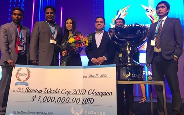 Start up Việt vô địch khởi nghiệp toàn cầu, ẵm trọn 1 triệu USD giải thưởng - Ảnh 1.