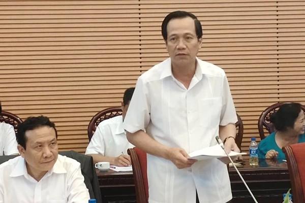 Bộ trưởng Đào Ngọc Dung: Tăng tuổi hưu không thể chậm hơn nữa - Ảnh 1.