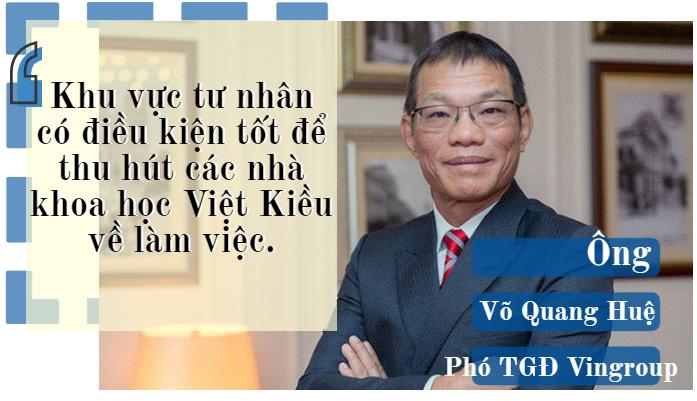 Ông Võ Quang Huệ: Khu vực tư nhân có điều kiện tốt để thu hút các nhà khoa học Việt Kiều về làm việc  - Ảnh 2.