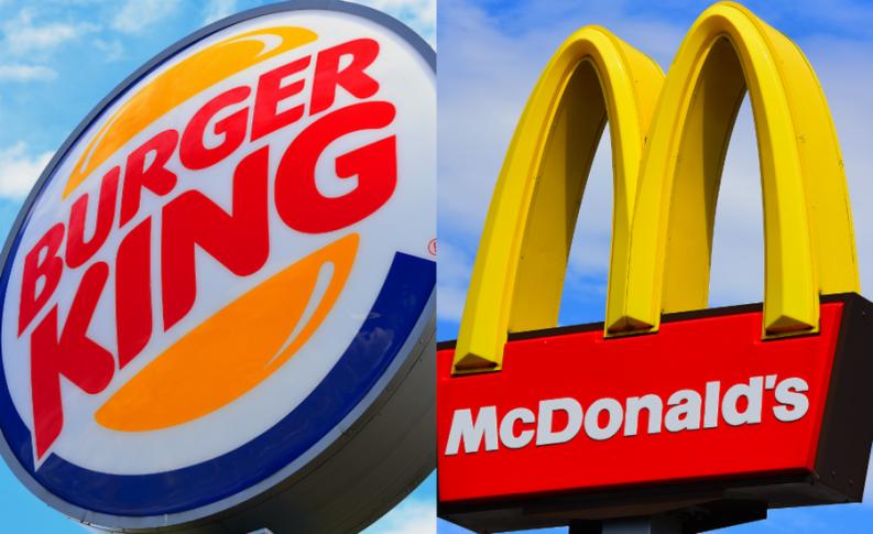 Phong cách chiến đấu trên mạng xã hội của 2 đối thủ truyền kiếp McDonalds và Burger King - Ảnh 1.