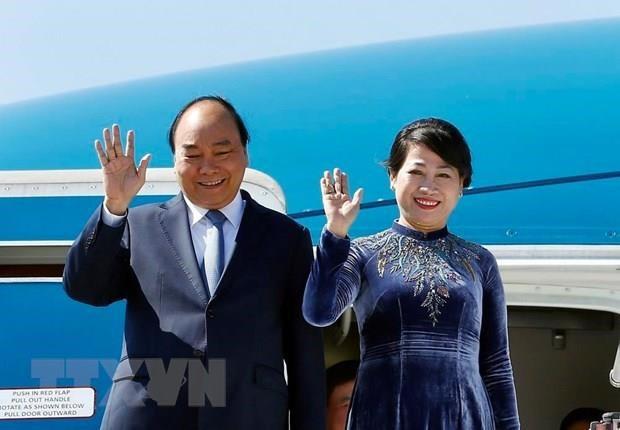 Thủ tướng Nguyễn Xuân Phúc lên đường thăm Nga, Na Uy và Thụy Điển - Ảnh 1.