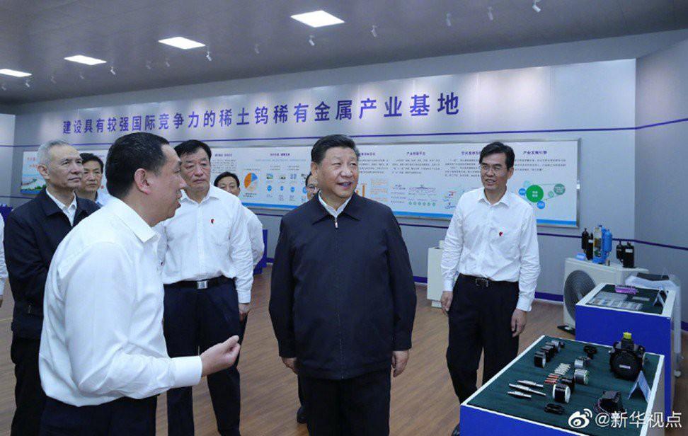 Chuyến thăm nhà máy đất hiếm của Chủ tịch Tập Cận Bình và thông điệp dành cho Mỹ - Ảnh 1.