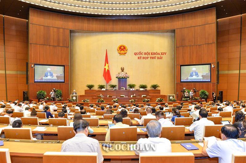 Quốc hội nghe báo cáo, thảo luận dự án Luật Giáo dục (sửa đổi) và dự án Luật Kiến trúc - Ảnh 1.