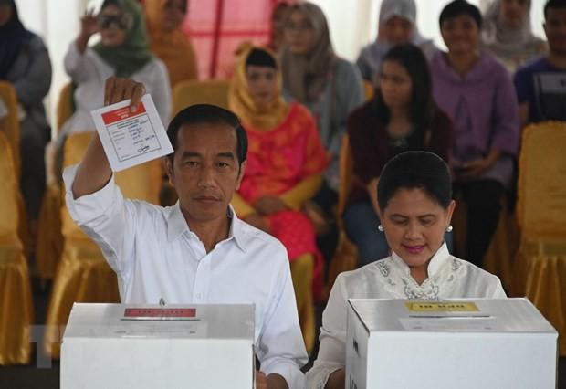Tổng thống Indonesia Joko Widodo tái đắc cử nhiệm kỳ hai - Ảnh 1.