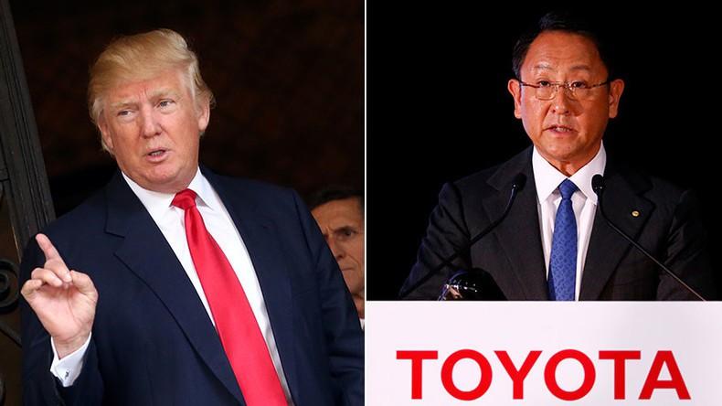 Toyota thất vọng sâu sắc bởi lập trường về xe ô tô nhập khẩu của ông Trump - Ảnh 1.