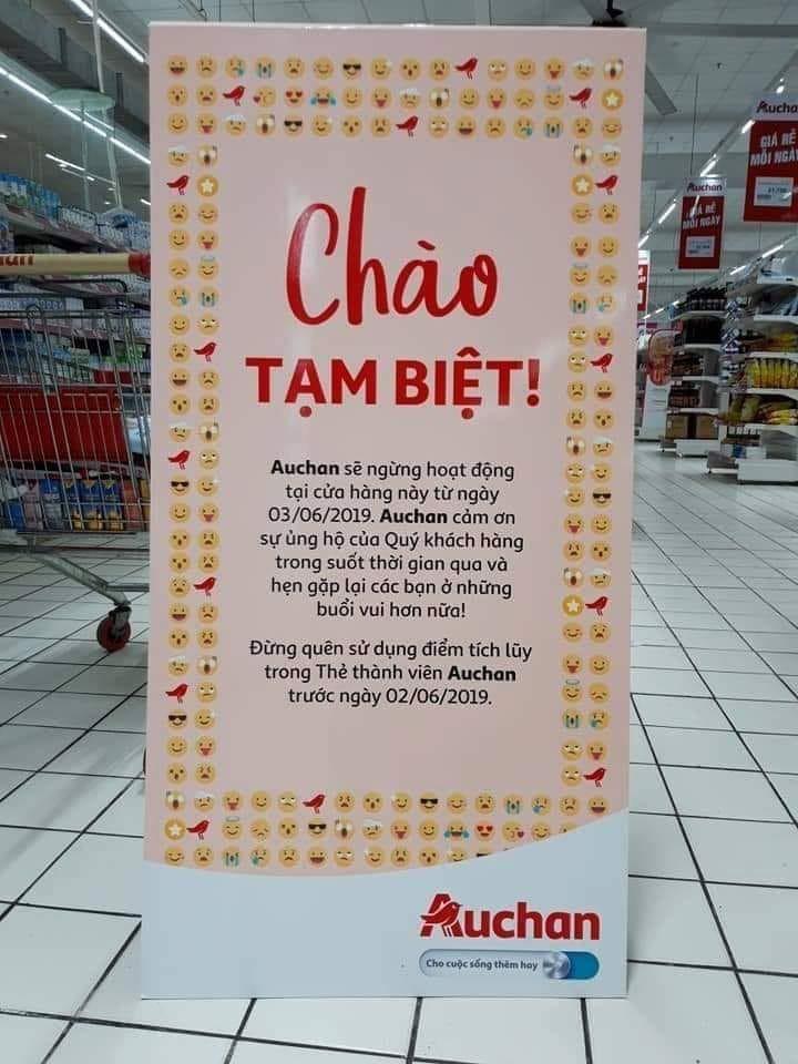 Các nỗ lực tiếp thị, giảm giá cuối cùng của Auchan trước khi rút khỏi Việt Nam - Ảnh 1.