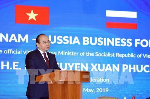 Thủ tướng Nguyễn Xuân Phúc khai mạc Diễn đàn Doanh nghiệp Nga-Việt - Ảnh 1.