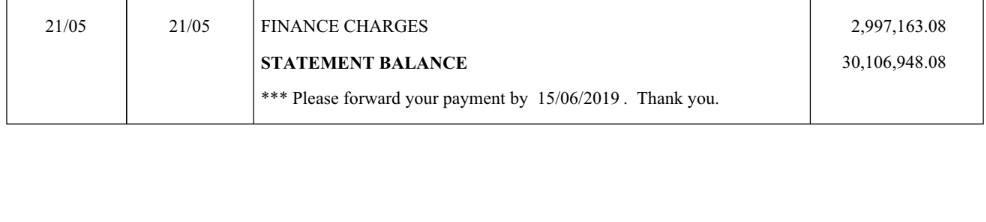 Khách hàng choáng  khi nhận thông báo tiền lãi từ HSBC Việt Nam - Ảnh 2.