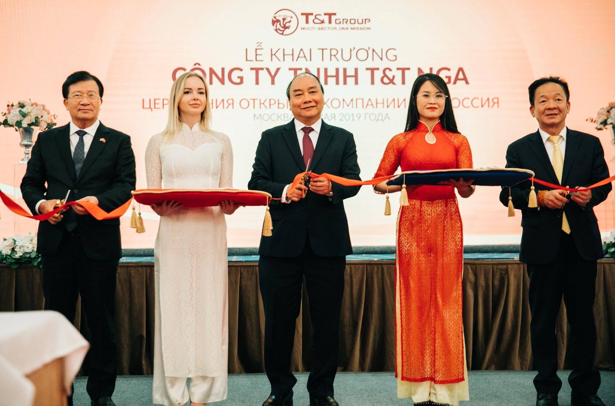 Tập đoàn T&T Group lập công ty con tại Liên Bang Nga - Ảnh 1.