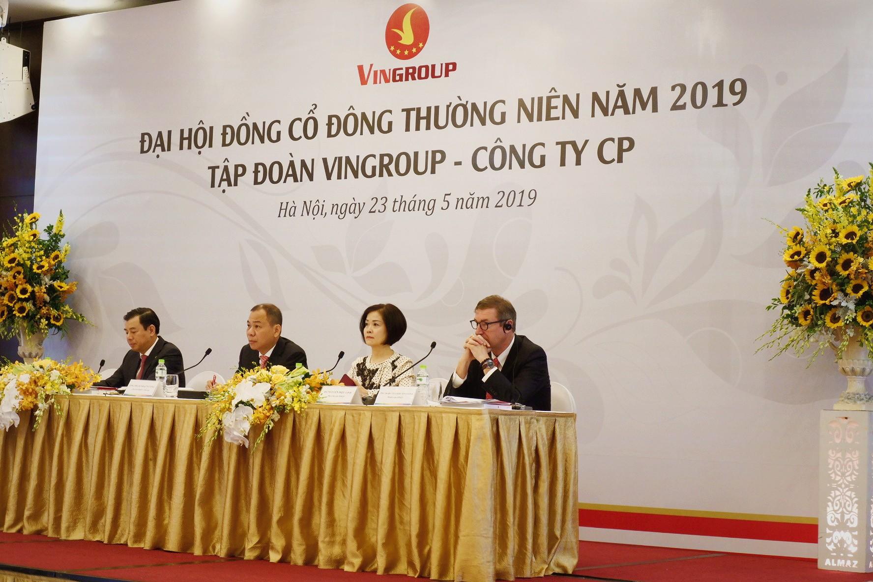 ĐHĐCĐ Vingroup: Kế hoạch doanh thu 140.000 tỉ đồng năm 2019, tăng trưởng 15% - Ảnh 1.