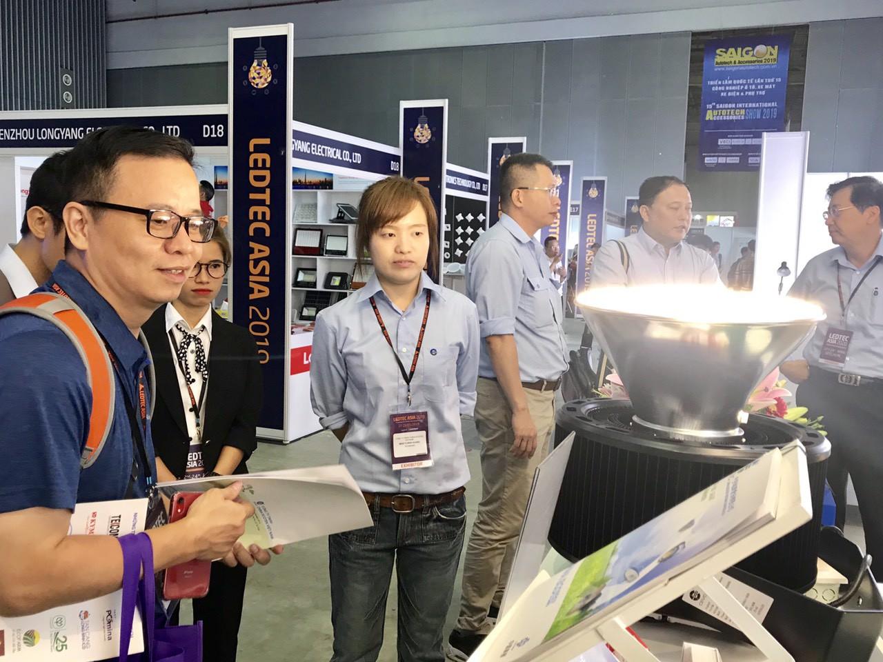 Cập nhật xu thế phát triển của thiết bị điện tử, chiếu sáng tại LEDTEC ASIA 2019 - Ảnh 1.
