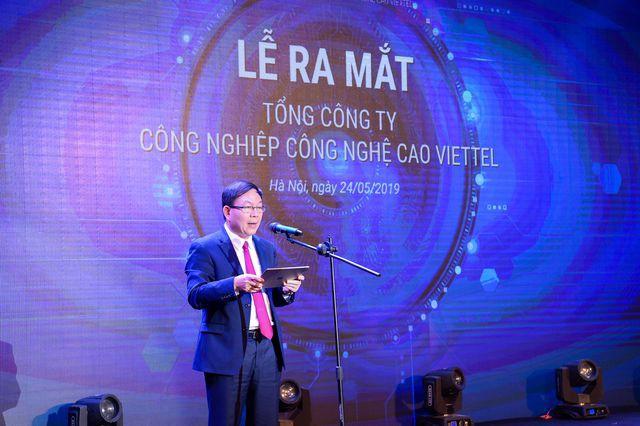Viettel ra mắt TCT Công nghiệp Công nghệ cao Viettel - Ảnh 1.