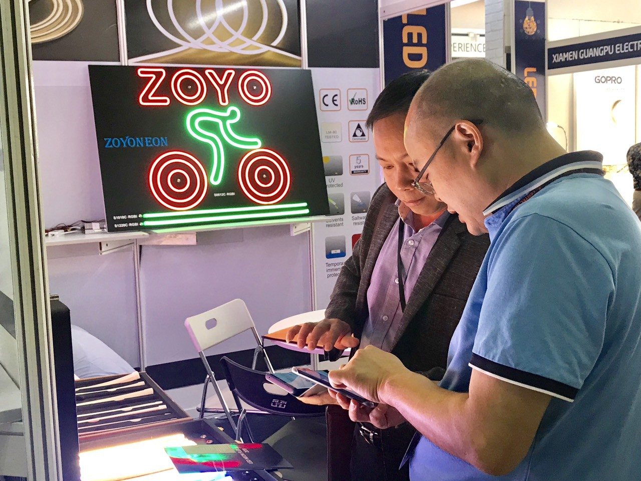 Cập nhật xu thế phát triển của thiết bị điện tử, chiếu sáng tại LEDTEC ASIA 2019 - Ảnh 6.