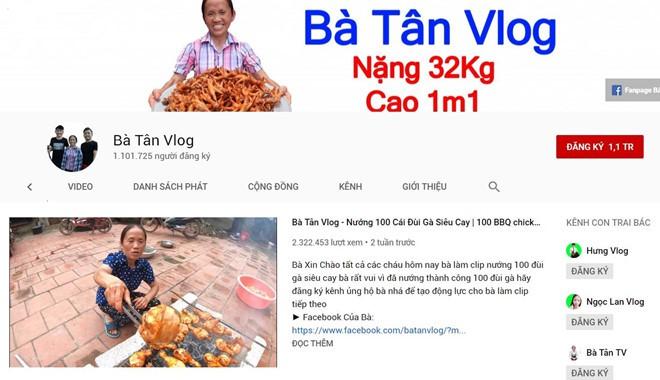 Bà Tân Vlog và các kênh nông dân hướng dẫn nấu ăn bùng nổ trên mạng - Ảnh 1.