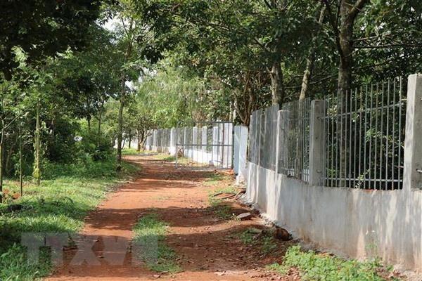 Đắk Nông: Nhà xây bất thường trên đất sắp thu hồi khai thác alumin - Ảnh 2.