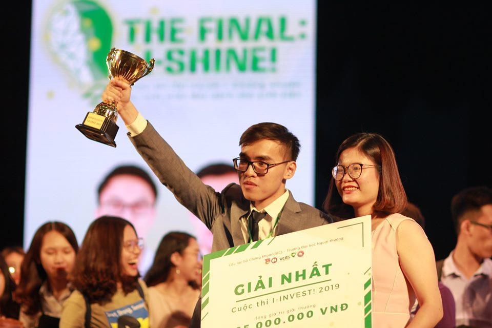 Sinh viên Trường Đại học Kinh tế Quốc dân là quán quân Cuộc thi I-Invest! 2019 - Ảnh 1.