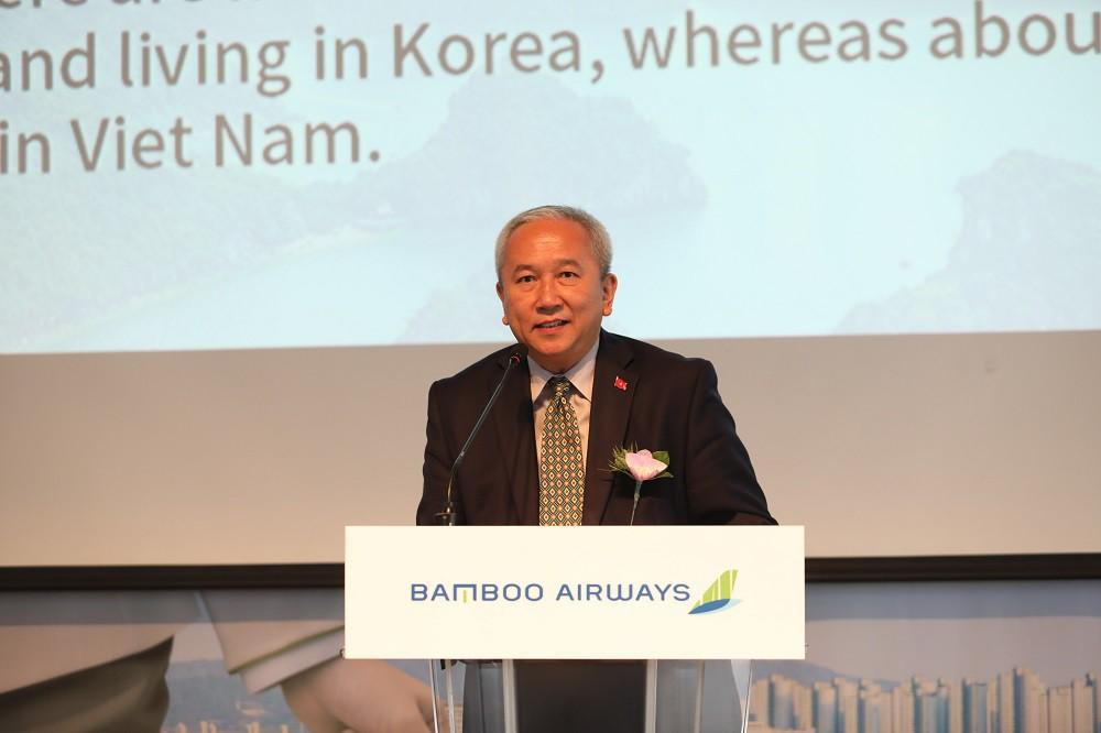 Tập đoàn PAA của Hàn Quốc làm tổng đại lí cho Bamboo Airways - Ảnh 2.