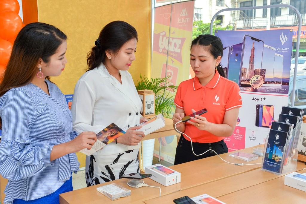 Vingroup bắt đầu bán điện thoại Vsmart tại Myanmar qua gần 1.500 cửa hàng - Ảnh 3.