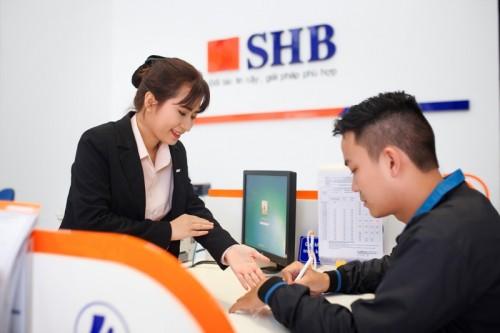 Lợi nhuận quí I SHB tăng gần 48%, lãi thuần từ dịch vụ tăng đột biến - Ảnh 1.