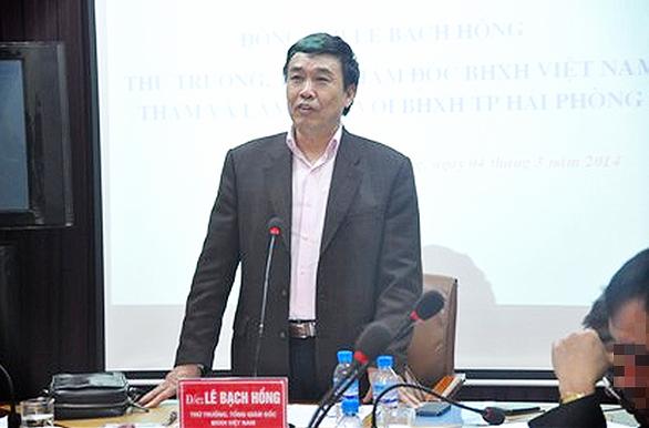 Đề nghị truy tố nguyên thứ trưởng Bộ Lao động - thương binh và xã hội - Ảnh 1.