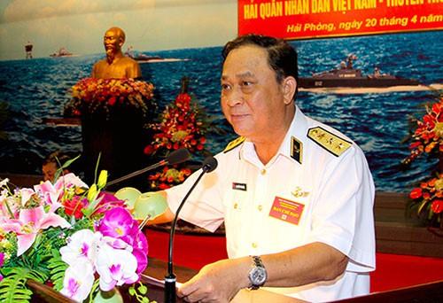 Xem xét kỉ luật Đô đốc Nguyễn Văn Hiến, nguyên Thứ trưởng Bộ Quốc phòng - Ảnh 1.