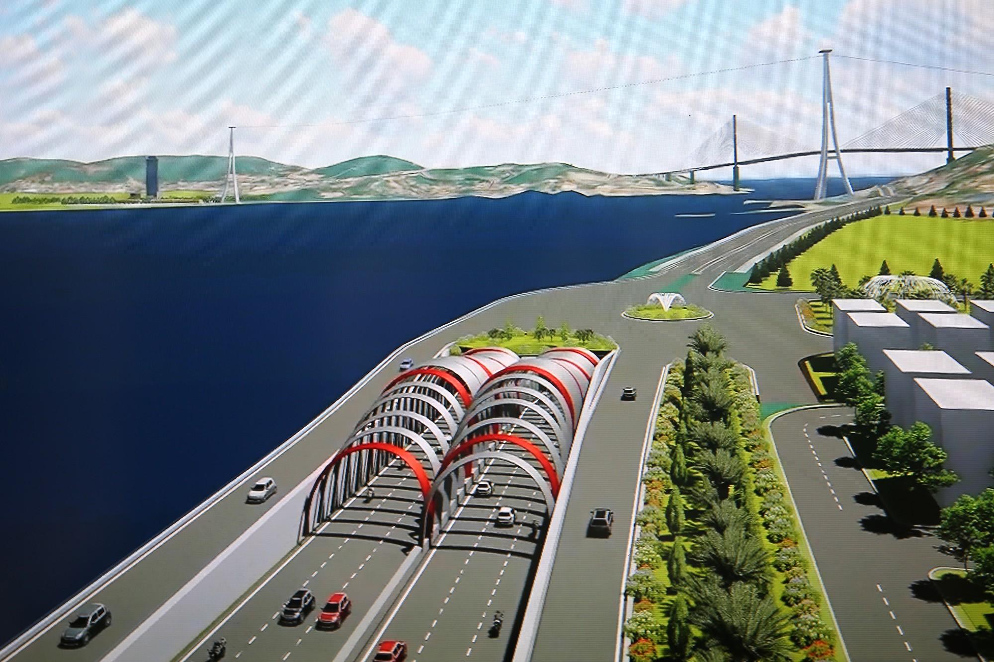 Giai đoạn 1 thiếu 2.000 tỉ đồng, Quảng Ninh phải cân đối vốn dự án Hầm Cửa Lục trong 2019 - 2020 - Ảnh 2.