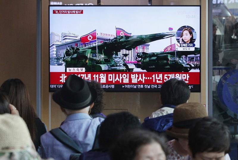 Vì sao Triều Tiên chỉ thử vũ khí tầm ngắn? - Ảnh 1.