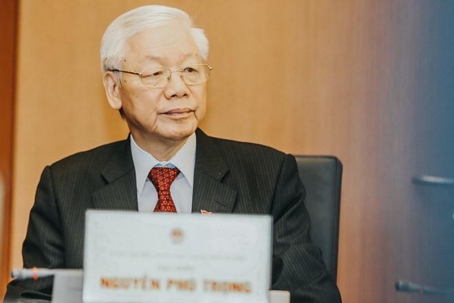 Tổng bí thư, Chủ tịch nước gửi thư chúc mừng Quốc vương Thái Lan đăng quang - Ảnh 1.