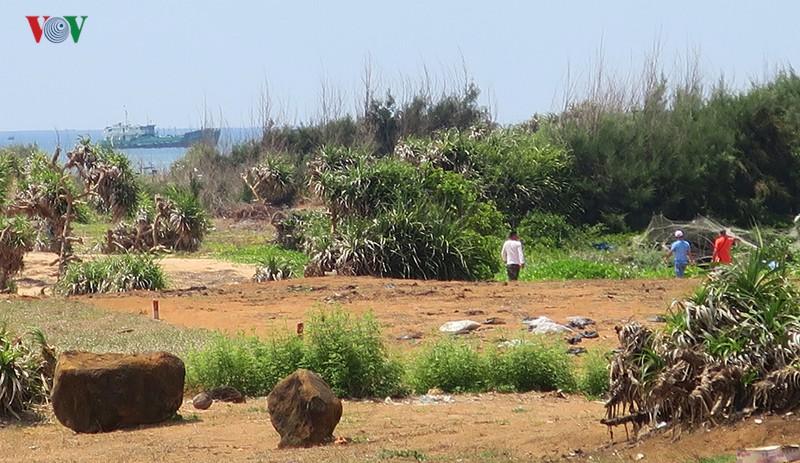Giao dịch mua bán đất tại đảo Phú Quý diễn biến phức tạp - Ảnh 1.