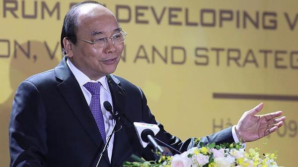 Thủ tướng: Tháo gỡ rào cản cho doanh nghiệp công nghệ phát triển - Ảnh 1.