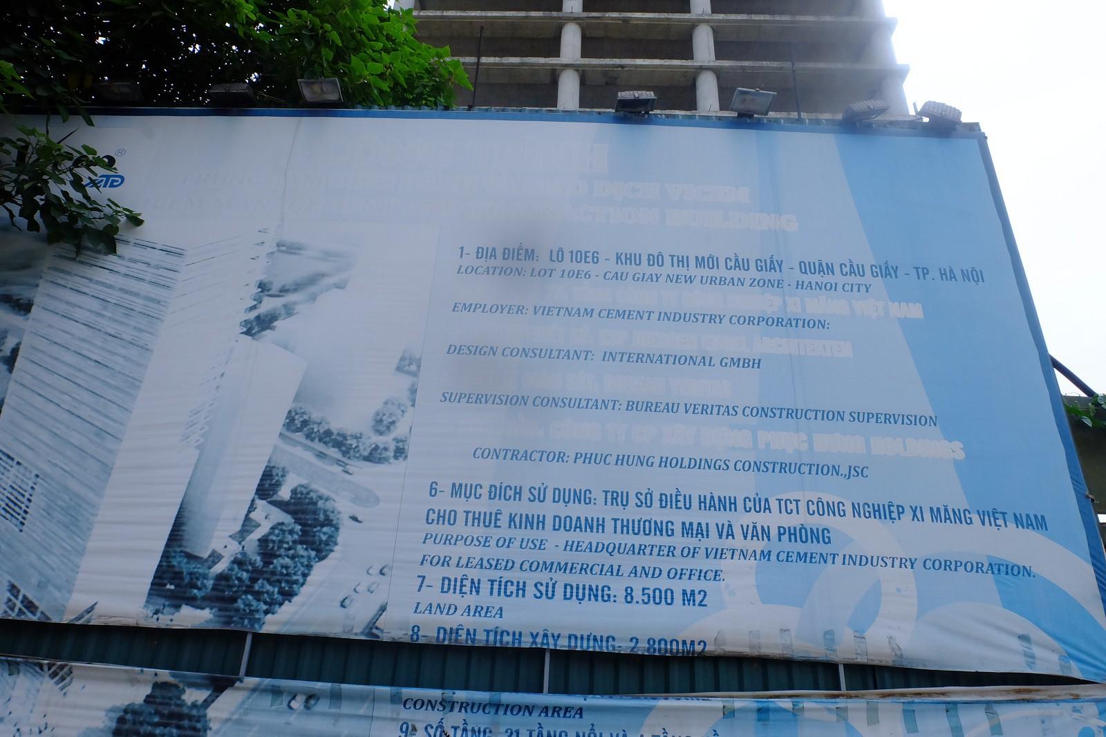 Cận cảnh tòa tháp nghìn tỉ bỏ hoang của Vicem đang tìm chủ mới - Ảnh 5.