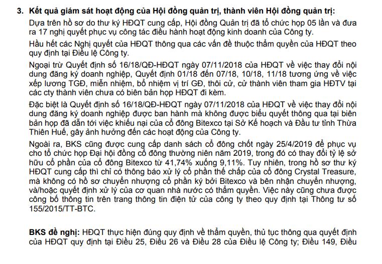 Cuộc chiến giành quyền lực tại Du lịch Hương Giang - Ảnh 1.