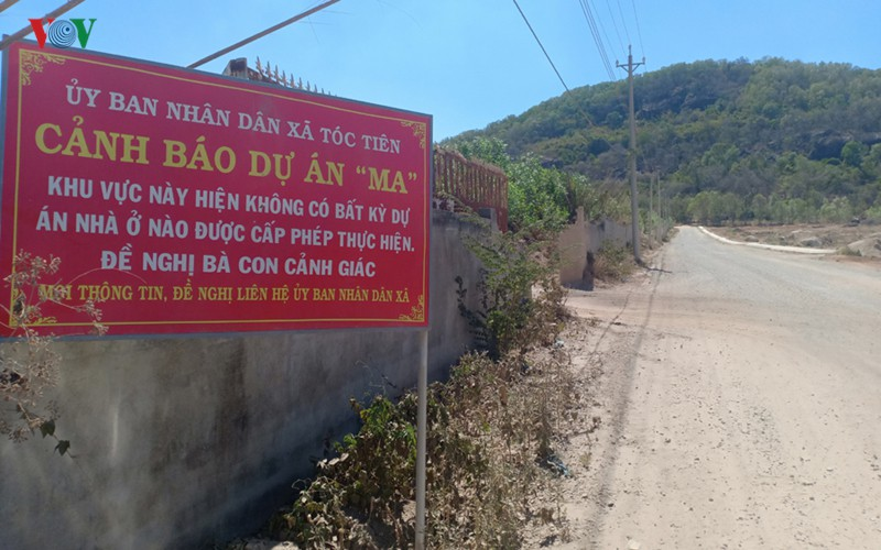 Sẽ cưỡng chế nhiều dự án tự ý phân lô ở Phú Mỹ tỉnh Bà Rịa-Vũng Tàu - Ảnh 1.